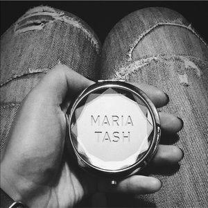 EUC Maria Tash Silver Tone Mirrored Compact